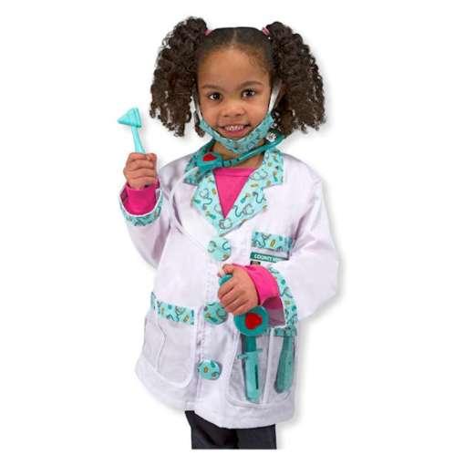 Lääkäriasu 3-6 vuotiaille Melissa & Doug