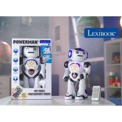 Robotti Powerman puhuva