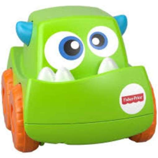 Fisher-Price Monster auto vihreä