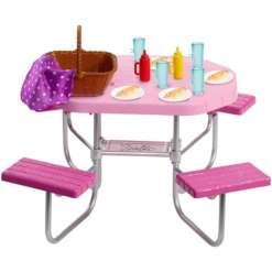 Barbie piknikpöytä setti