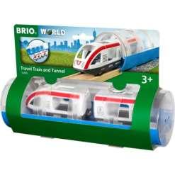 Brio juna matkustajajuna & tunneli 33890