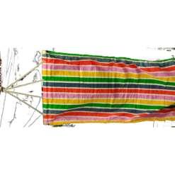 Riippumatto 80 x 185 cm värikäs