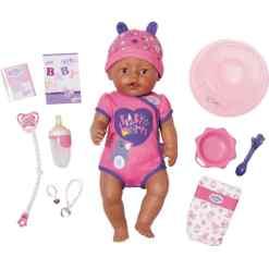 Baby Born Soft Touch tumma tyttö nukke