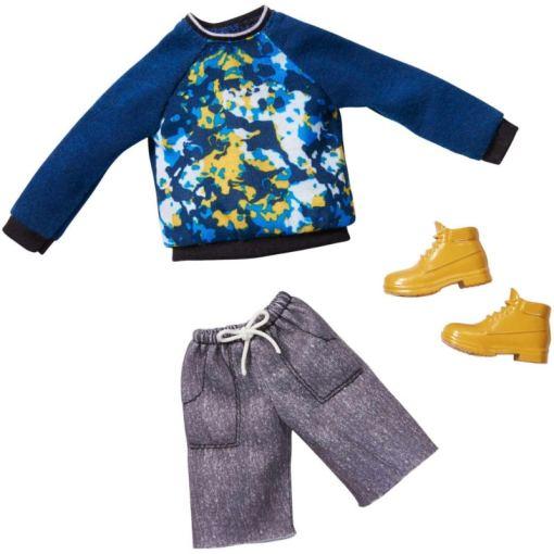Barbie Ken asu sininen paita ja shortsit