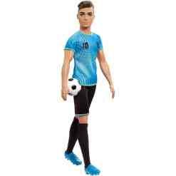 Barbie Ken jalkapalloilija