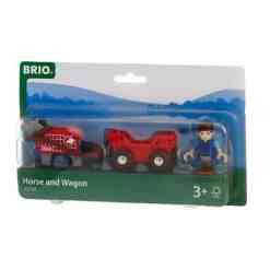 Brio hevonen ja vaunut 33794