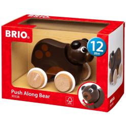 Brio karhu työntölelu 30338