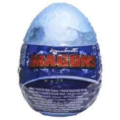 Dragons pehmo muna sininen
