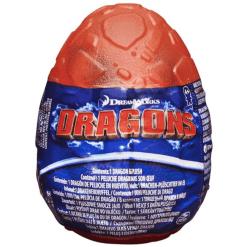Dragons pehmo muna punainen