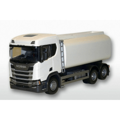 Emek säiliöauto Scania Cr City valkoinen