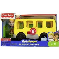 Fisher-Price koulubussi Little People