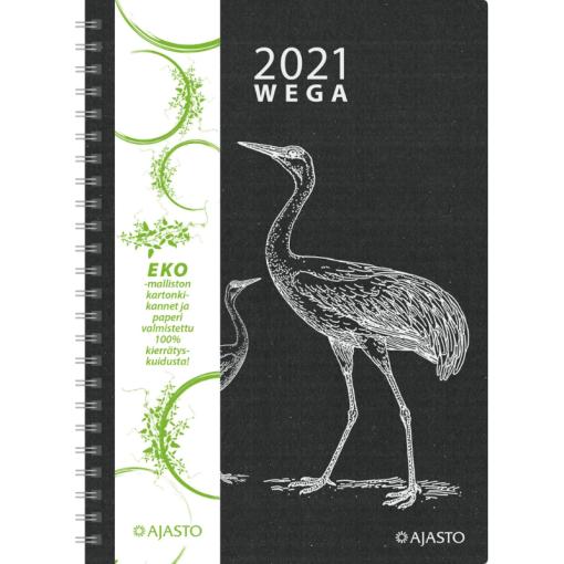 Kalenteri pöytäkalenteri Wega Eko 2021
