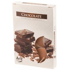 Lämpökynttilä tuoksu Chocolate 6 kpl