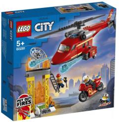Lego City 60281 Palokunnan pelastushelikopteri