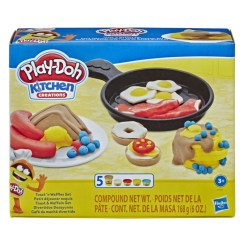 Play Doh keittiö vohveli ja paahtoleipä