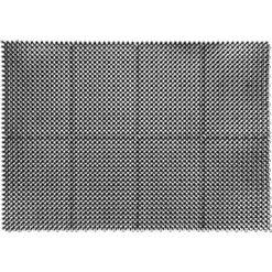 Ruohomatto liitettävä Hestia 43 x 60 cm musta