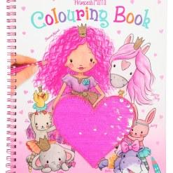 Värityskirja Princess Mimi paljettisydän