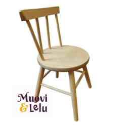 Lasten tuoli puinen koivu