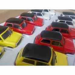Mini Cooper 1300 1:32 erilaisia