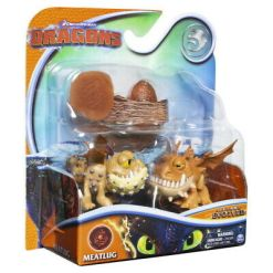 Dragons Meatlug 2 kpl & muna