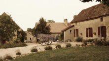 Entrance to campsite Les Voisins near Montaigu le Blin