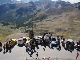2CVs on Col de la Bonnette
