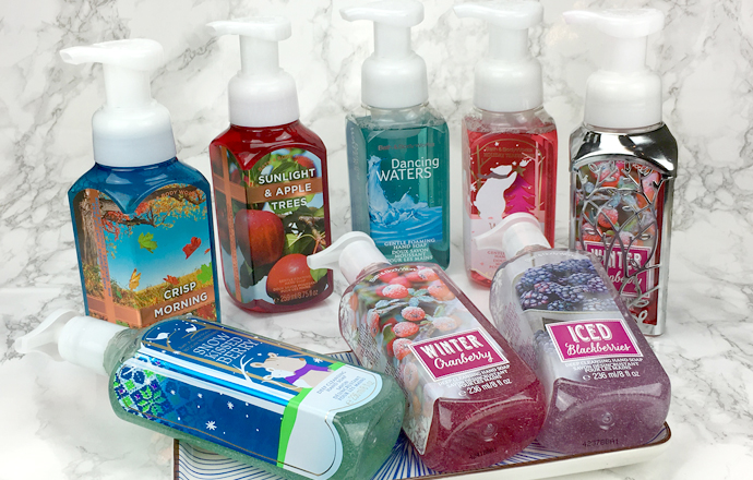 Bath and Body Works Haul Warschau Foaming Soaps Deepcleansing Soap