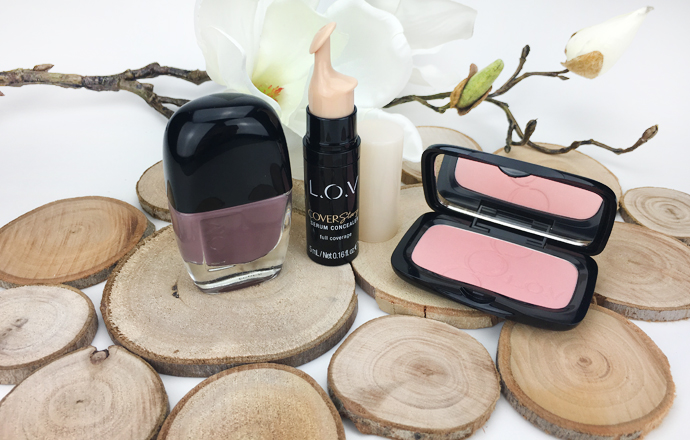 COVERstory Serum Concealer full coverage LOVinity Long lasting Nail Lacour HEARTful Healthy Glow Blush long lasting LOV L.O.V Cosmetics Cosnova Drogerie Rossmann Blush Concealer Nagellack