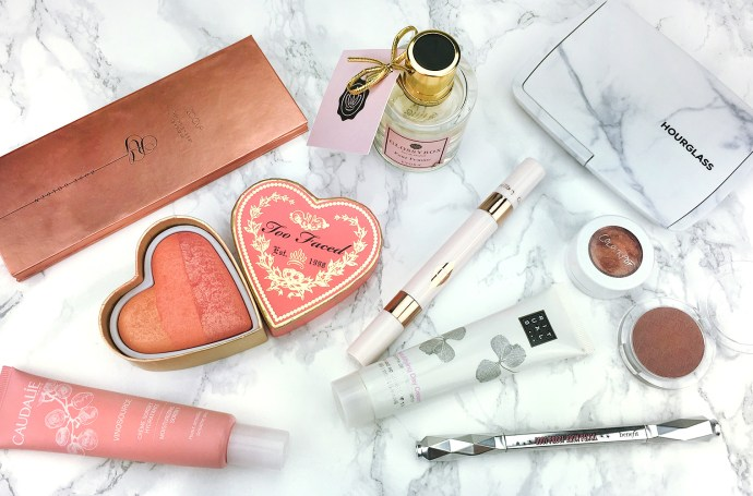 Beauty Favoriten 2016 Rituals, Catrice, NARS, ZOEVA, Dim Light, Blush, Eyshadow, Too Faced, Beni Durrer, ColourPop, essence, Benefit, Glam Doll, Lippie Stix, Beauty Blender, Real Techniques, Luxie, GlossyBox, Glossy Box, Evora, Aespo, BVLGARI, NIVEA, Balea, Unani, Paula´s Choice, Paulas Choice, Caudalíe, Caudalie, Garnier, KMS