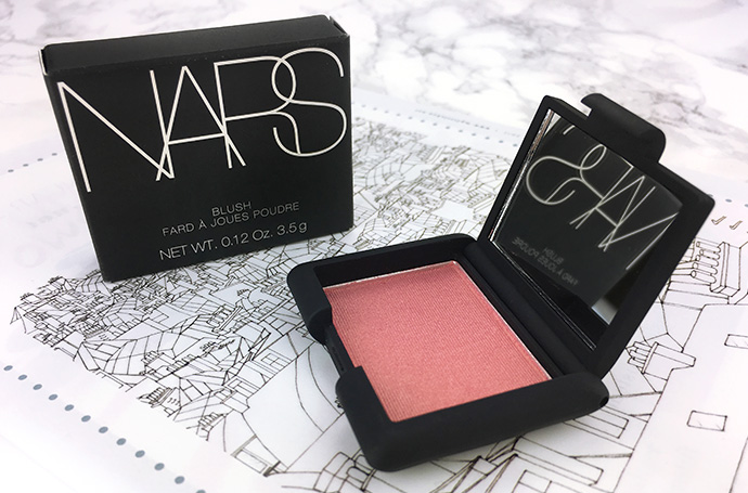 mupshimallow My Little Box Januar 2017 Fresh Start NARS Blush Rouge Orgasm