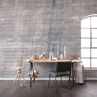 papier peint effet beton industriel concrete 400x250