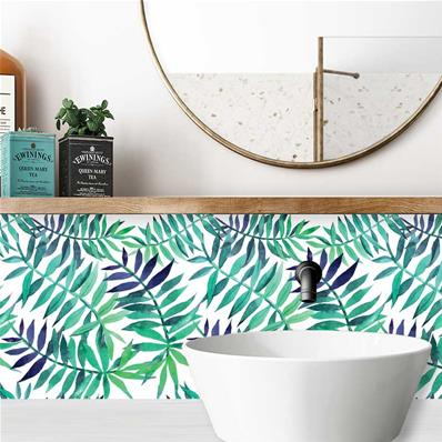credence adhesive salle de bain alanis