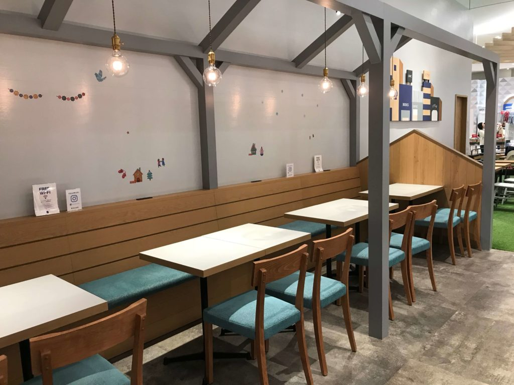 GLOBAL WORK CAFE(グローバルワークカフェ)の店内