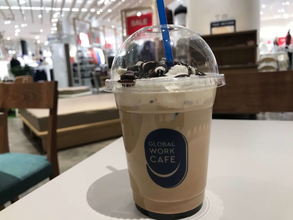 GLOBAL WORK CAFE(グローバルワークカフェ)のカフェモカ
