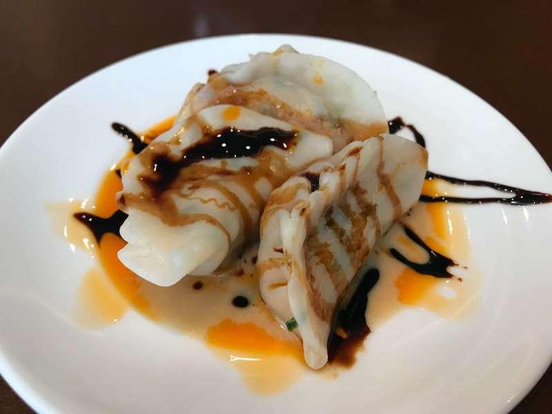 中華料理旬華咲兆の水餃子