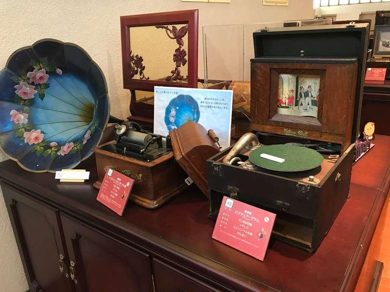 浜名湖オルゴールミュージアムの楽器