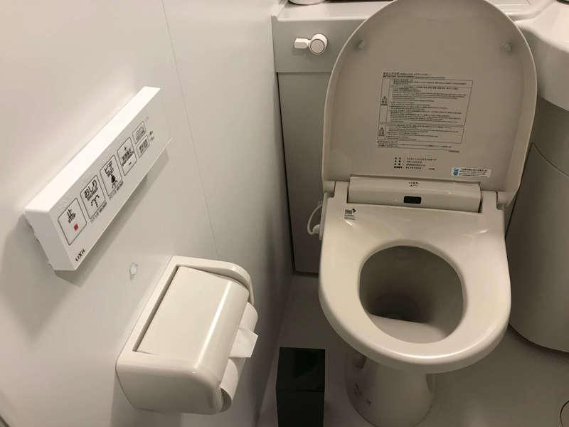 ホテルリブマックスPREMIUM梅田EASTのトイレ