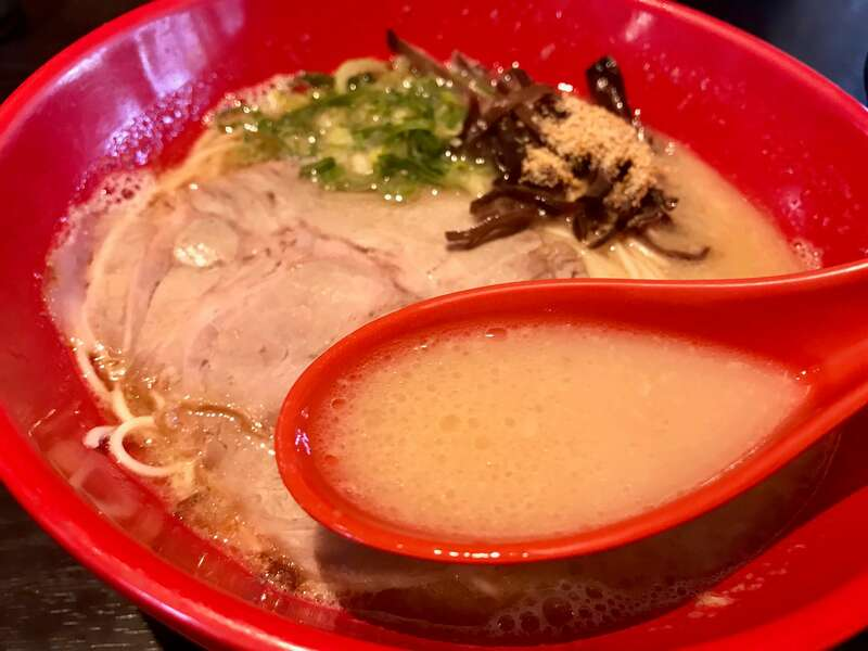 拉麺とらや虎丸のスープ