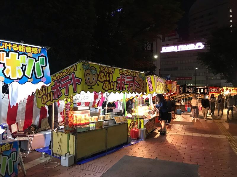 浜松まつりの露店