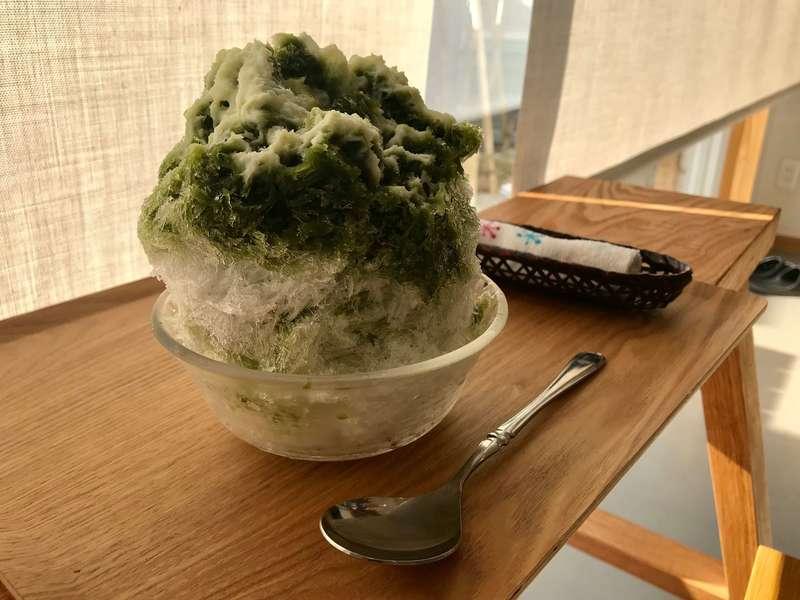 四代目近江屋のかき氷