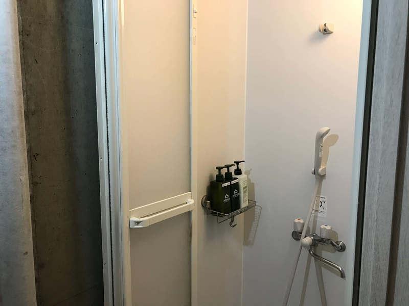 365BASEのシャワー