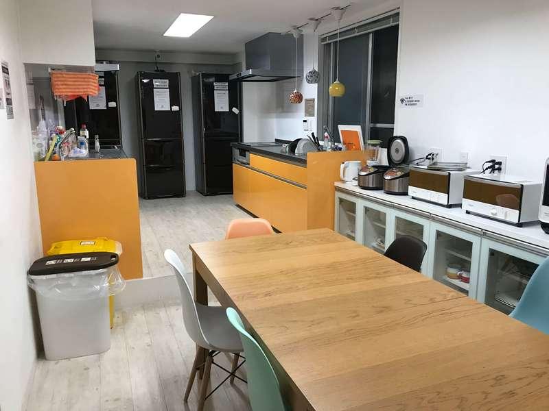 365BASEのキッチン