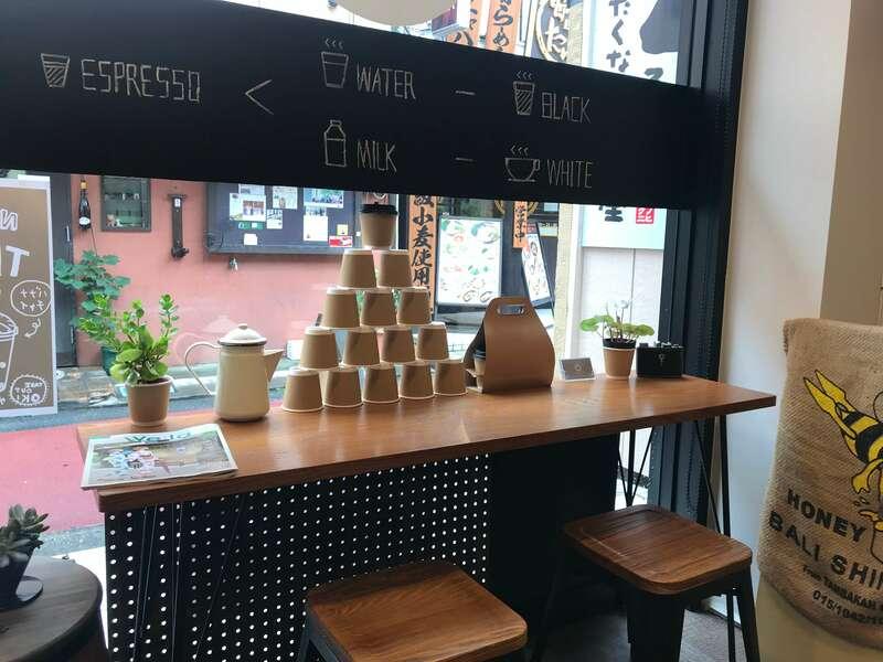 ウエストゴートコーヒーの店内