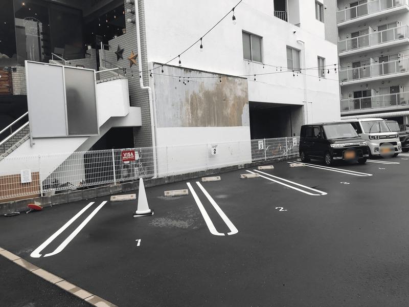 ハイミールの駐車場