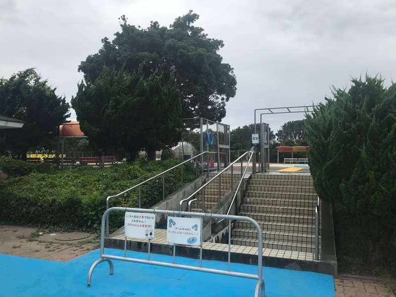 江之島水泳場の児童プール