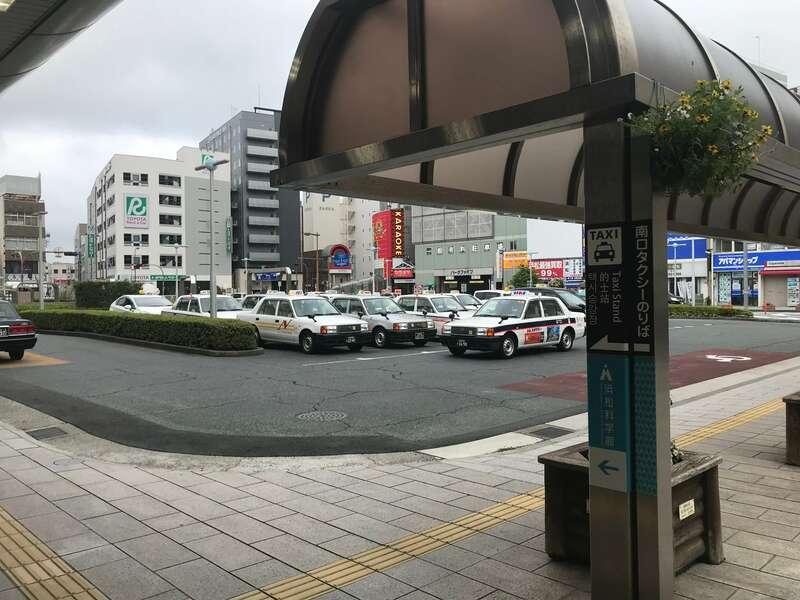 浜松駅南口タクシー乗り場