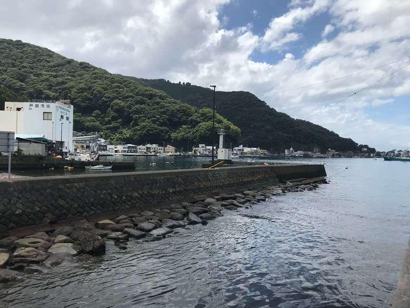 戸田の海岸