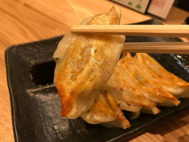茶ばしらの浜松餃子