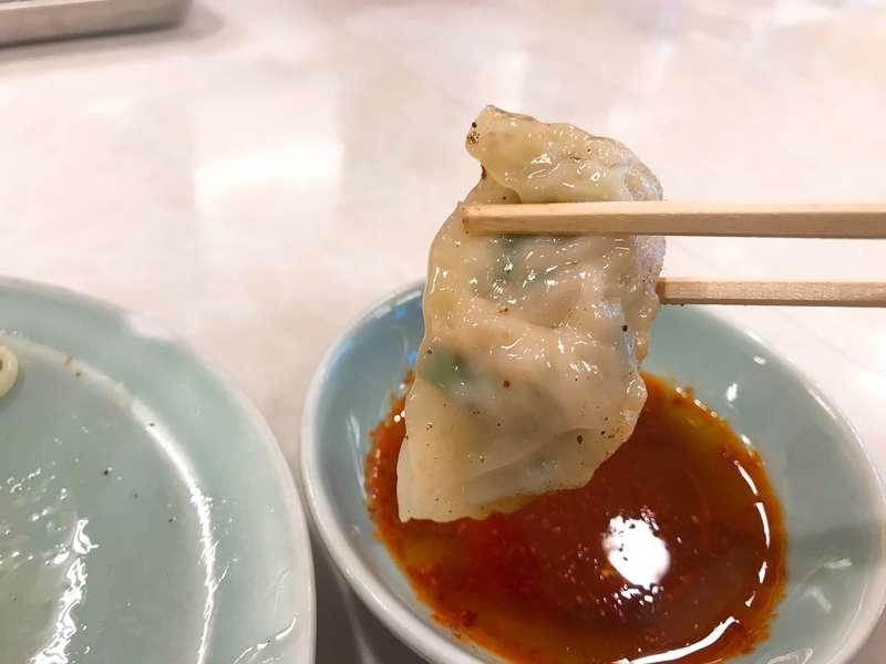孫悟空浜北店の餃子の皮