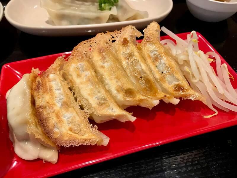 浜太郎小池町店の浜松餃子